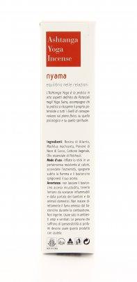 Incenso Ashtanga Yoga Nyama - Equilibrio Nelle Relazioni