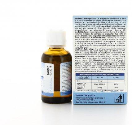 VitaDHA Baby Gocce - Omega 3 e DHA