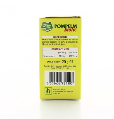 Integratore in Capsule - PompelmBiotic 100% Vegetali