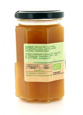 Composta d'Albicocche con Agave Biologica