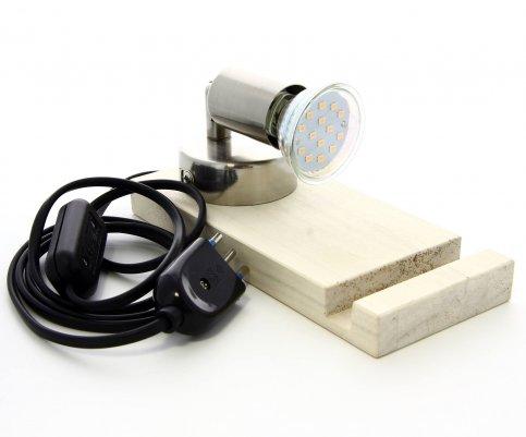 Bio-Catalogo: 5° Chakra - Vetro Opalescente con Lettera Sanscrita Pellicolare + Lampada (da Retroilluminare)