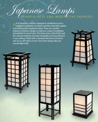 Lampada Giapponese - Piramid Nera