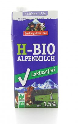 Latte UHT-Bio Parzialmente Scremato Senza Lattosio