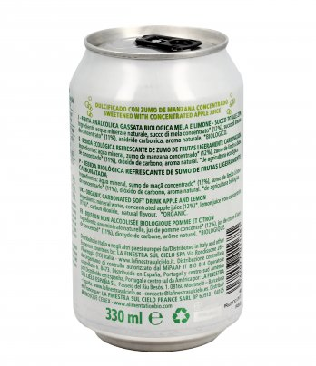Bibita Gassata al Limone Bio