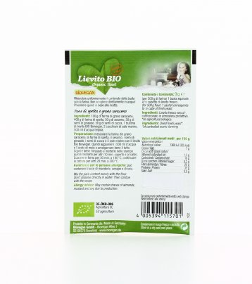 Lievito Bio - Senza Glutine