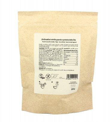 Granola Proteica con Mirtilli e Semi di Chia - Life Breakfast