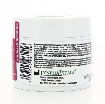 Lynphadol Crema Gel a Base di Olio di Gaultheria