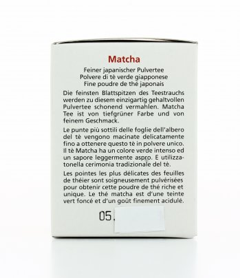 Polvere di Tè Verde Giapponese - Matcha Bio