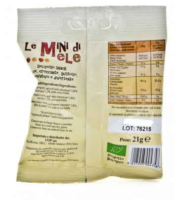 Snack Mini di Mele Bio