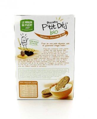 Pìtit Dej' - Biscotti ai Cereali con Pepite Ciocc e Miele