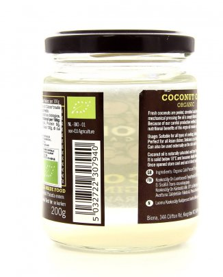 Coconut Virgin Oil Raw - Olio di Cocco