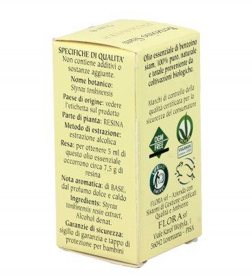 Olio Essenziale Puro Benzoino Siam