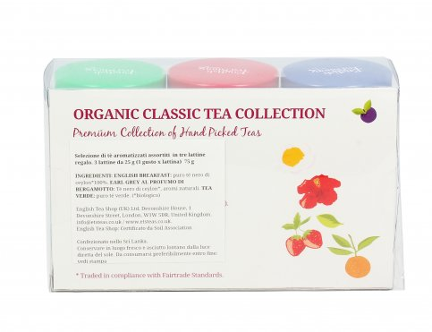 Tè Bio Aromatizzati in Lattina - Organic Classic Tea