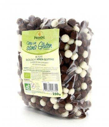 Bi Pops - Palline di riso croccanti al cocco e cacao