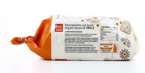 Pane Bauletto con Farina Tipo 2 Semintegrale