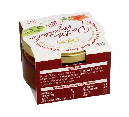 Patè Vegetale - Battuto di Verdure Bio