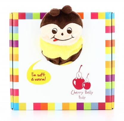 Cuscino Peluche Riscaldabile - Cherry Belly Ape
