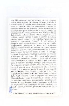 Piastrina Dissipatrice C.P. Mex