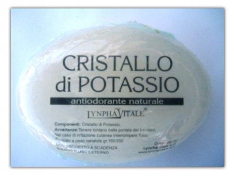 Pietra Ovale di Cristallo di Potassio