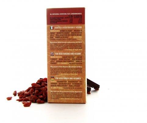 PranaCiok - Cioccolato Crudo al Goji