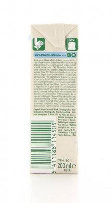 Latte di Riso e Cocco Biologico - Rice Coconut 200 ml