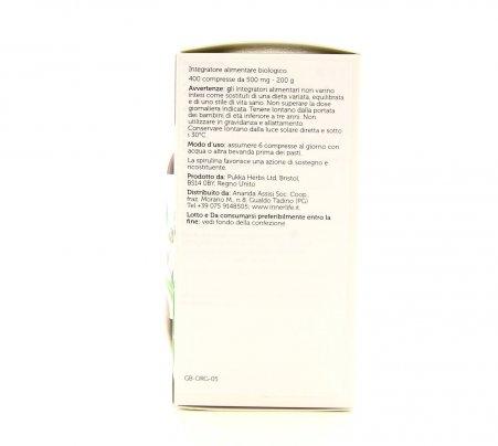 Essential Spirulina 400 Compresse