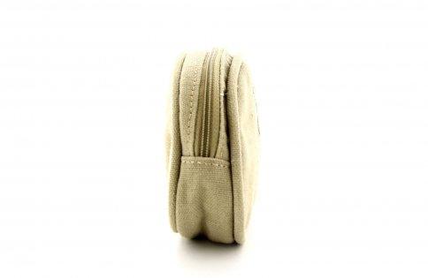 Pochette Ovale per Cosmetici - Camel