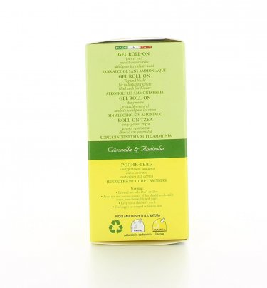 Roll-On Gel Citronella e Crabwood