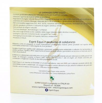 Sacchetto Regalo di Organza con Olio Argan Puro Roll-On + Rhassoul Cleansing Gel