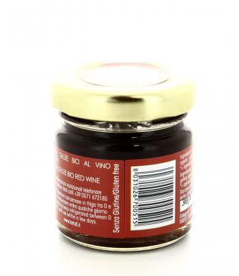 Salsa Gelee Bio al Vino Rosso