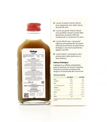 Ginkgo Succo Biologico