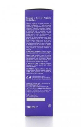 Sanagel- Gel Aloe, Argento Colloidale, Vitamina C e Lavanda