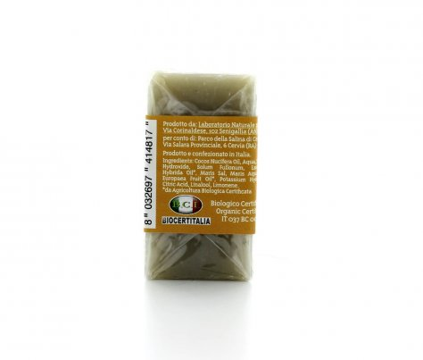 Sapone Vegetale con Sale Dolce di Cervia e Argilla