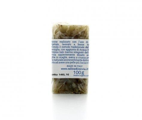 Sapone Vegetale Scrub con Sale Dolce di Cervia