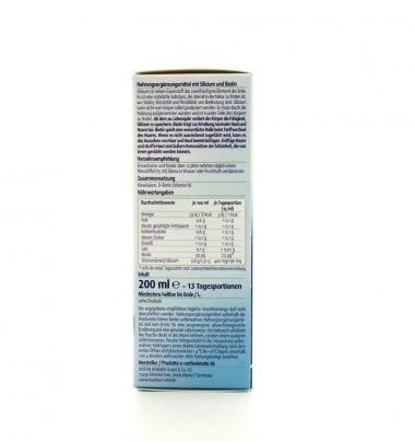 Original Silicea Plus - Gel di Acido Silicico con Biotina per Capelli e Pelle