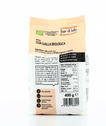 Soia Gialla Bio Senza Glutine
