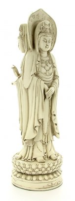 Statua di Kuan-Yin a Tre Facce