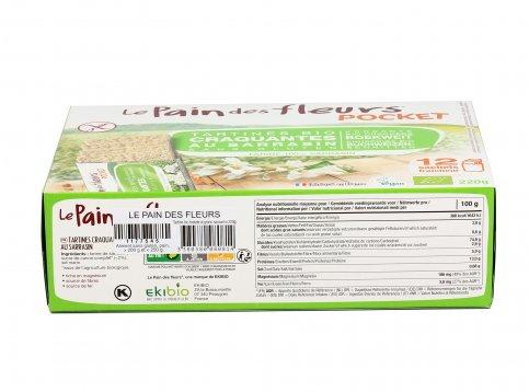 Tartine Tostate al Saraceno 220 gr (12 porzioni)