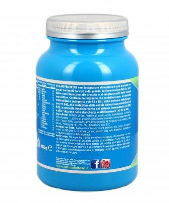 Vegan Proteine Gusto Fragola (450 gr.)