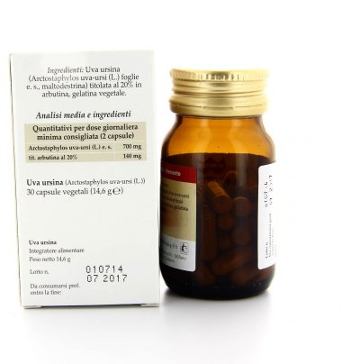 Integratore Alimentare - Uva Ursina - Drenante e Vie Urinarie