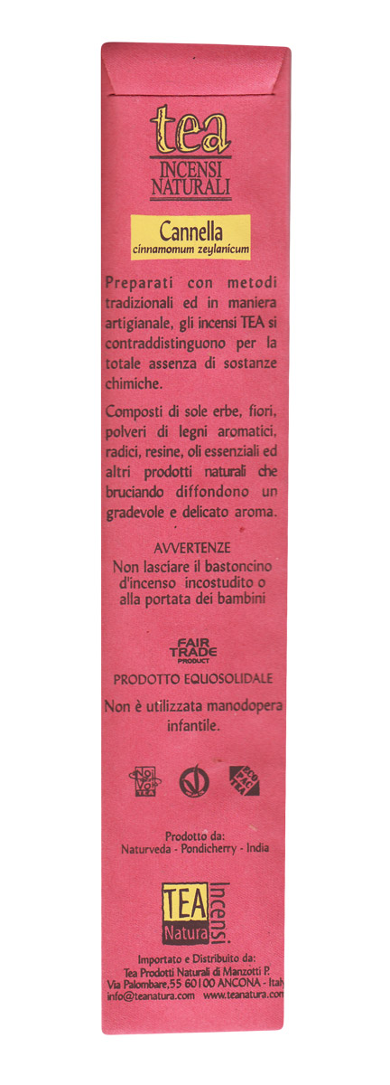 Cinnamomum zeylanicum - Incenso senza prodotti chimici