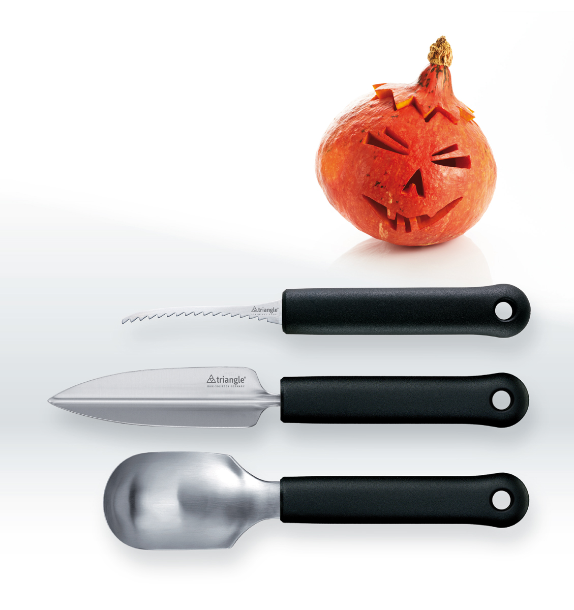Set Coltelli per Zucca Inox Coltelli per creare zucche di Halloween  3 coltelli