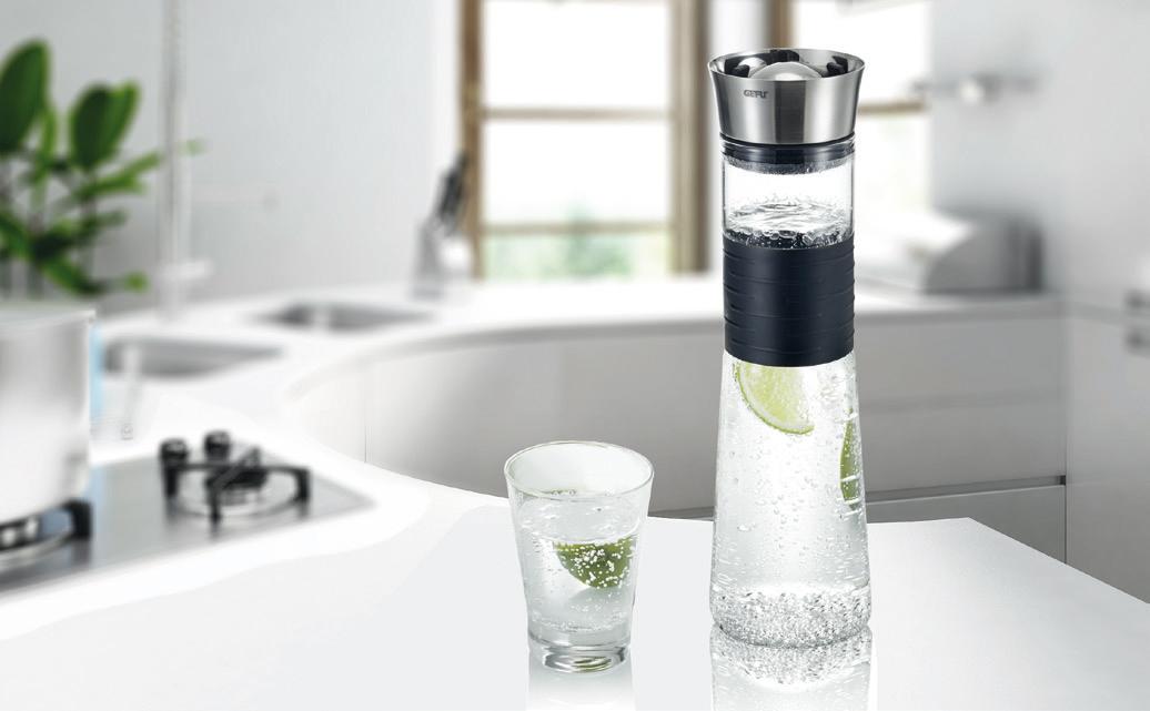 Caraffa per realizzare acqua aromatizzata