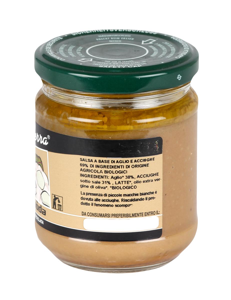 Bagna Caoda Salsa a base di aglio e acciughe
