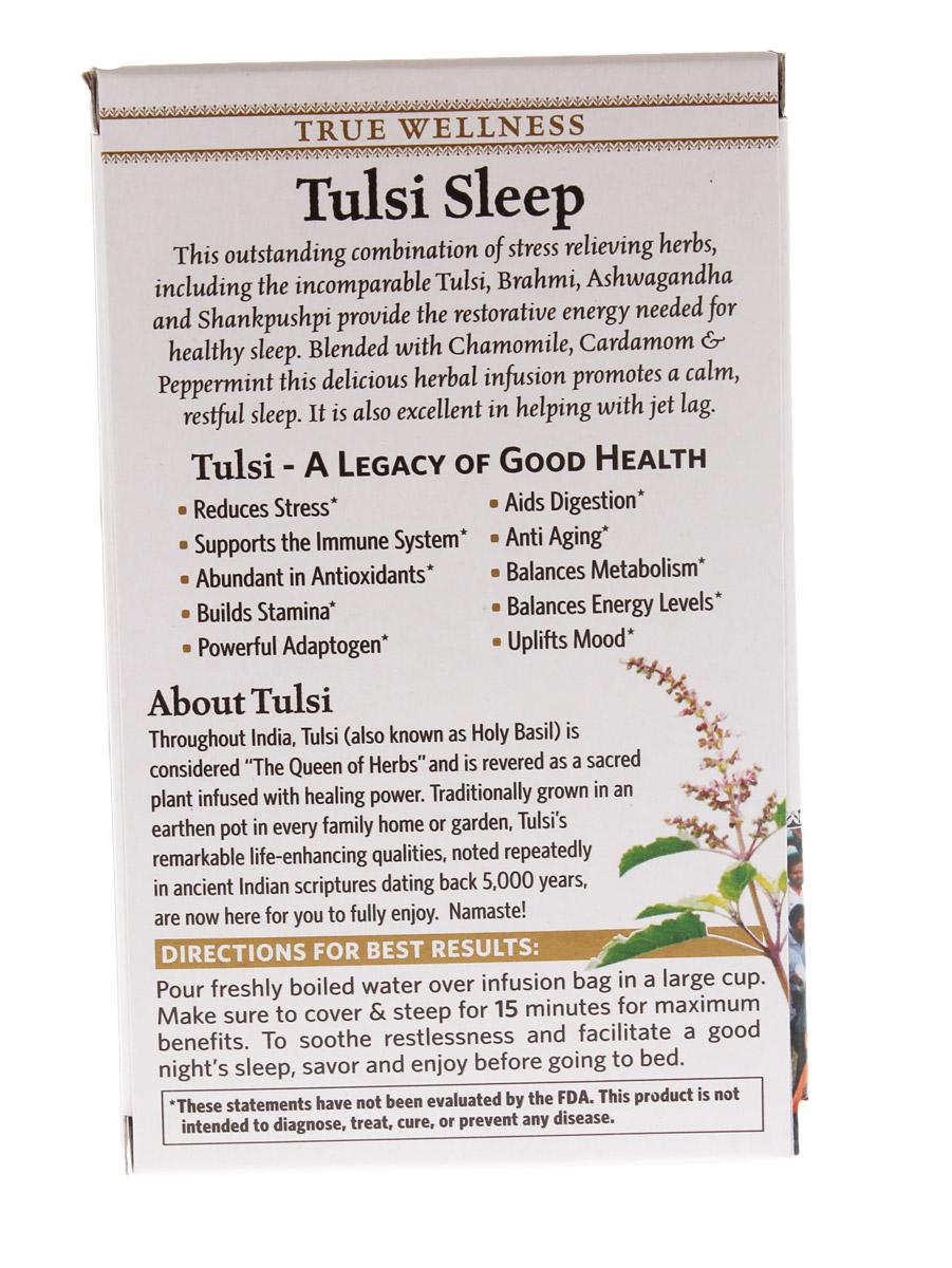 Tulsi Sleep Promuove il sonno e la calma