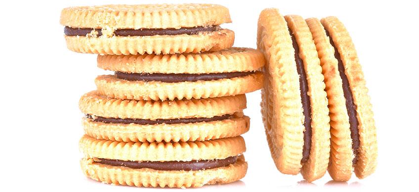 Biscotti con Crema al Cacao - Bio Twins