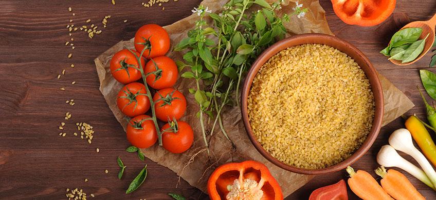 Boulgour di Grano - Peperone e Peperoncino