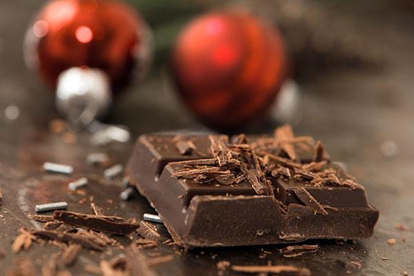 Presepe di Cioccolato Fondente