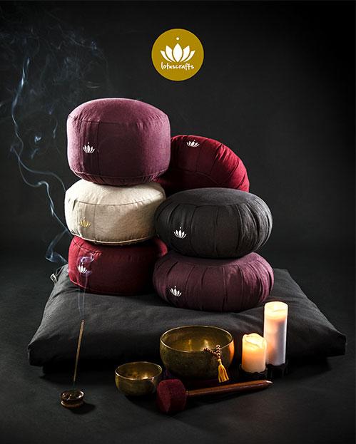 """Cuscino da Meditazione """"Lotus"""""""