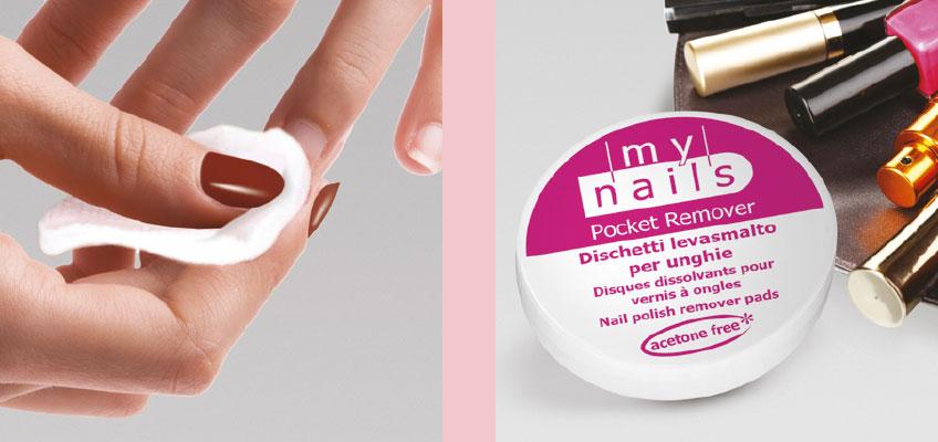 Dischetti Levasmalto per Unghie - My Nails Pocket Remover
